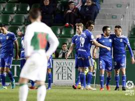 El Oviedo se quedó con la victoria. LaLiga