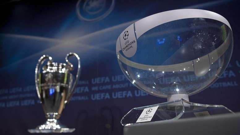 Así será el sorteo de octavos de Champions. UEFA