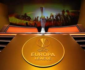 Live coverage of the Europa League Group stages draw.  Twitter/EuropaFC