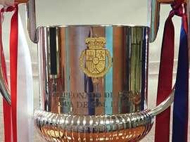 Le FC Barcelone est le tenant du titre de la Coupe du roi. Twitter