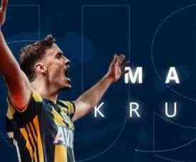 Max Kruse signe au Fenerbahçe. Capture/Fenerbahce