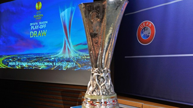 Europa League trophy. FIFA