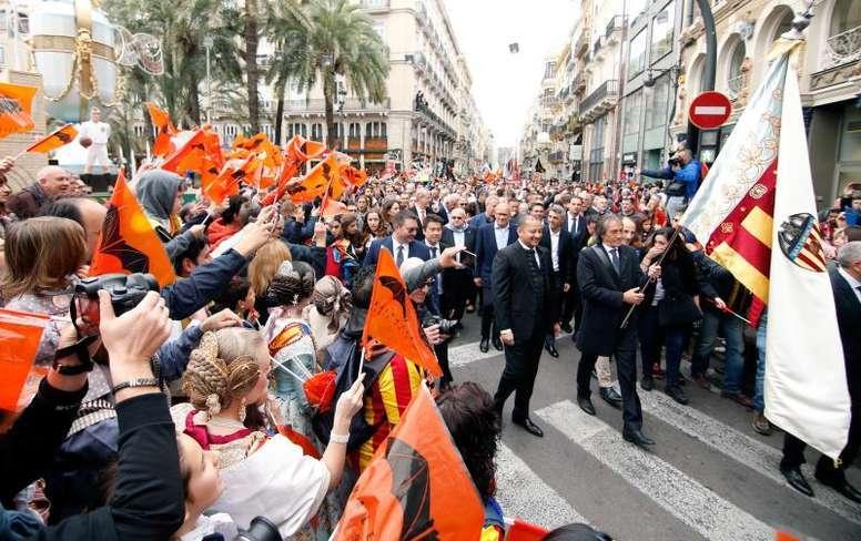 La Fundación del Valencia recibirá un premio de la ONCE. EFE