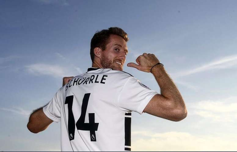 Schürrle, sin equipo. Twitter/FulhamFC