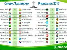 La CONMEBOL presentó nuevo logo para la Sudamericana. CONMEBOL