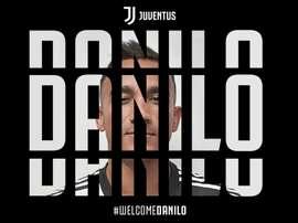 Danilo nouveau latéral de la Juve.  Juventus