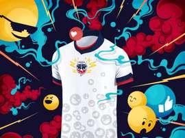 La nueva y original camiseta de Fortaleza ha dado la vuelta a las redes. FortalezaCEIF