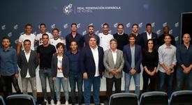 Raúl, Xavi y Xabi Alonso ya tienen el título de entrenador UEFA Pro. RFEF