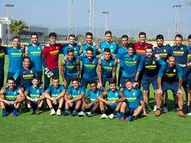 El primer filial del Villarreal ha iniciado la temporada con tres caras nuevas. VillarrealCF/Archivo