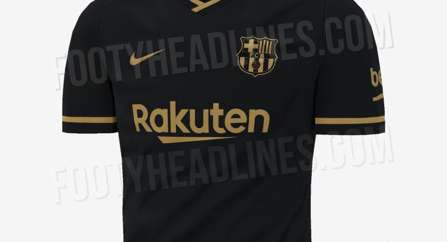 ¡Sorpresa! El Barcelona podría utilizar una camiseta negra para la 2020-21