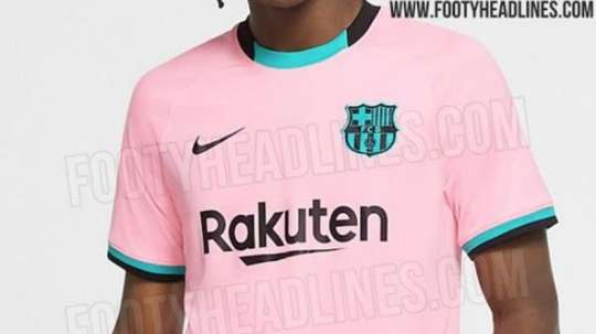 Le possible maillot third du FC barcelone pour 2020-21. Footyheadlines