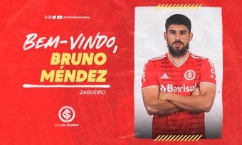 Bruno Méndez, nueva incorporación de Internacional. Twitter/SCInternacional