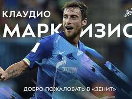 Marchisio spent his whole career at Juventus. Twitter/Zenit