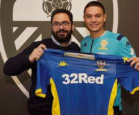 He has signed for Leeds. LeedsUnited