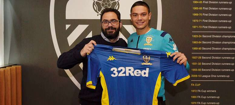 He has signed for Leeds. LeedsUnited