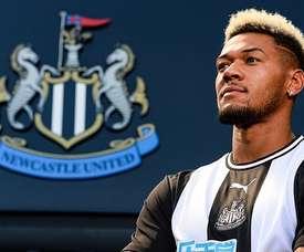 Joelinton é a contratação mais cara da história do Newcastle. NewcastleUnited