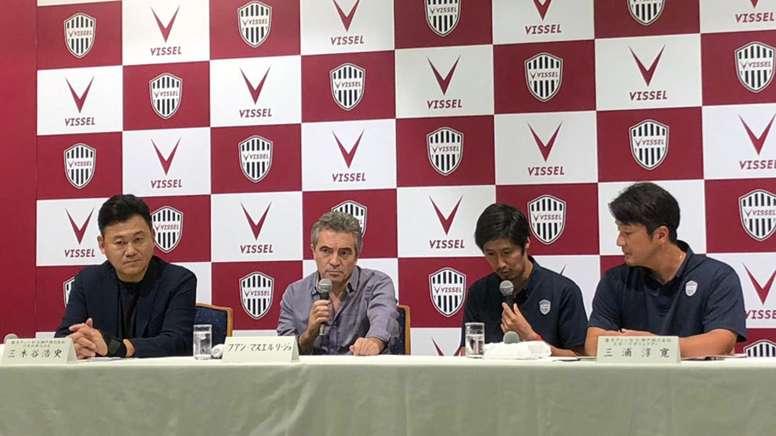 Iniesta y Villa se quedan sin entrenador: Lillo, despedido del Vissel. VisselKobe