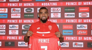 Kevin-Prince Boateng wins Serie B player of December. ACMonza