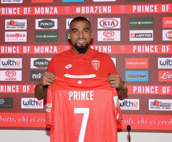 Kevin-Prince Boateng. ACMonza