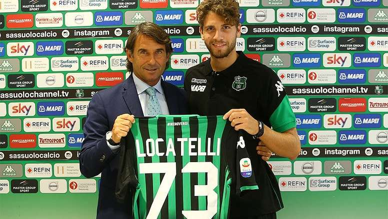 Pep Guardiola est fan de Manuel Locatelli. afp