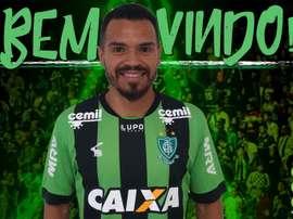 América Mineiro se refuerza con Marcos Venâncio 'Ceará'. Tw/AmericaMG