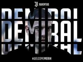 Merih Demiral. Twitter/JuventusFc