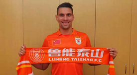 Moisés Lima deja Palmeiras y firma por el Shandong Luneng. ShandongLuneng