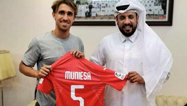 Muniesa rejoint le Qatar. Al-ArabiSportsClub