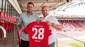 Szalai ya fue presentado con el Mainz 05. Mainz 05