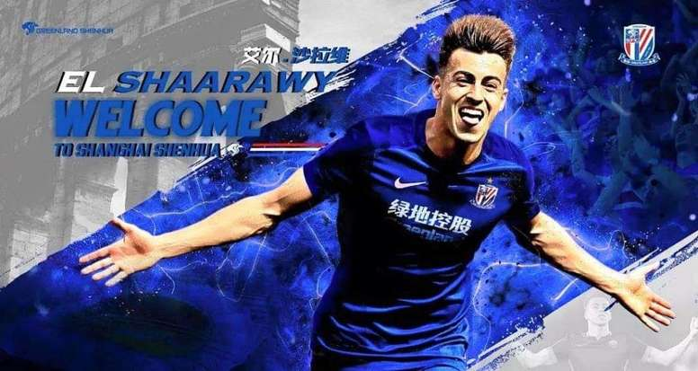 Shanghai Shenhua agree terms with Roma for El Shaarawy. Goal