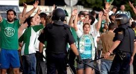La manifestación reunió a 60.000 personas. EFE