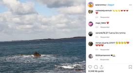 La hermana de Sala recordó a Emiliano con unas preciosas palabras. Instagram/salaromina
