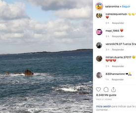 Sala's sister remembers him with kind words. Instagram/salaromina
