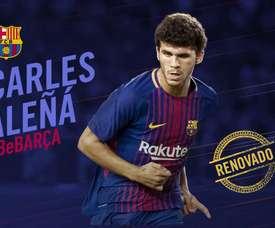 Jovem meia viu o seu contrato com o Barça ser ampliado. FCB