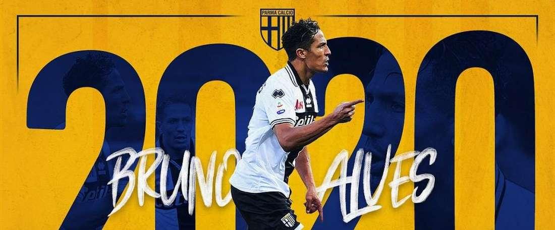 Un an de plus pour Bruno Alves. Parme