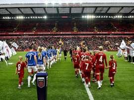 Liverpool veut agrandir Anfield. Twitter/LiverpoolFCW