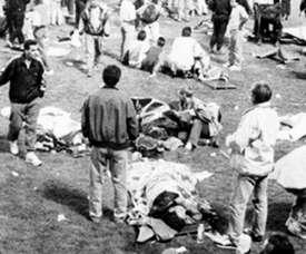 18 muertos y 2357 heridos. FútboldesdeFrancia
