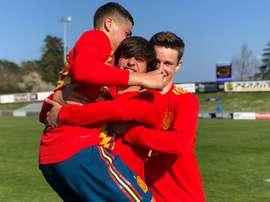 Pablo Moreno anotó el tanto de la victoria. SeFutbol