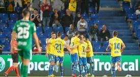 Las Palmas superó al Sporting de Gijón. LaLiga