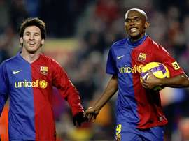 El '9' del Barça más temido y culpable de la gloria de Mou. EFE/Archivo