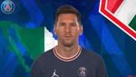 Messi y el PSG felicitan el Día de la Independencia de México