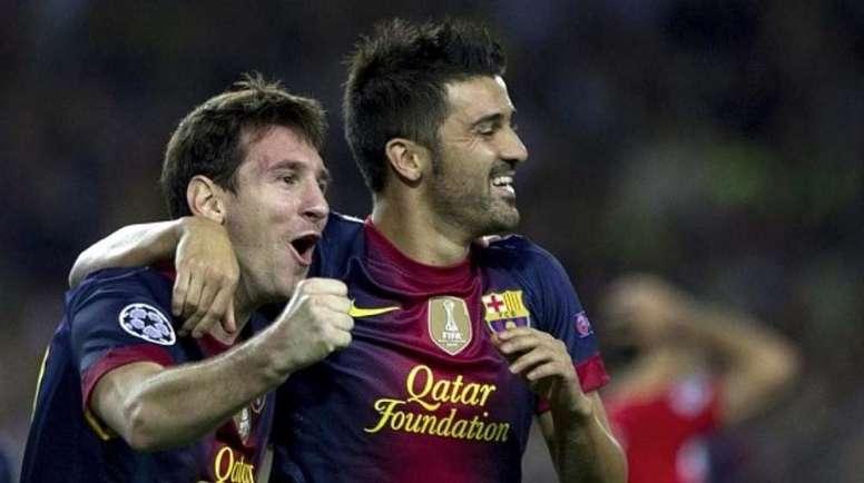 Villa, sobre el motivo de su marcha del Barça.