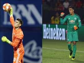 Les deux options de United face au potentiel départ de De Gea. AFP/GNKDInamo