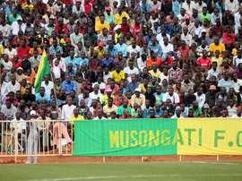El último bastión de África. Twitter/MusongatiFC1