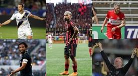 Los jugadores que más camisetas venden en la MLS. AFP