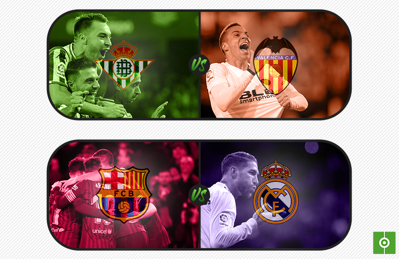 Sorteo de cruces de semifinales de Copa del Rey 2018-2019. BeSoccer