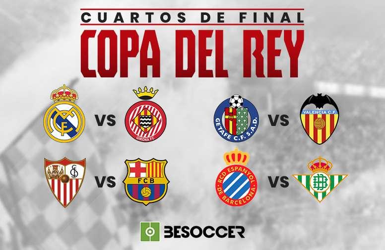 Estos son los cruces de cuartos de Copa del Rey 2018-19 ...