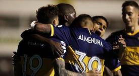 La Superliga de los tres líderes regresa con Maradona. BocaJuniors