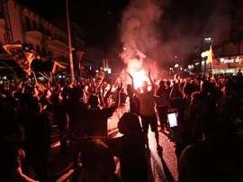 Atenas ardió. EFE