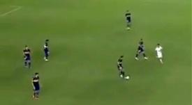 El vídeo viral de la vergüenza 'xeneize': pasotismo, jugadores andando. Captura/FabiTaboadaok